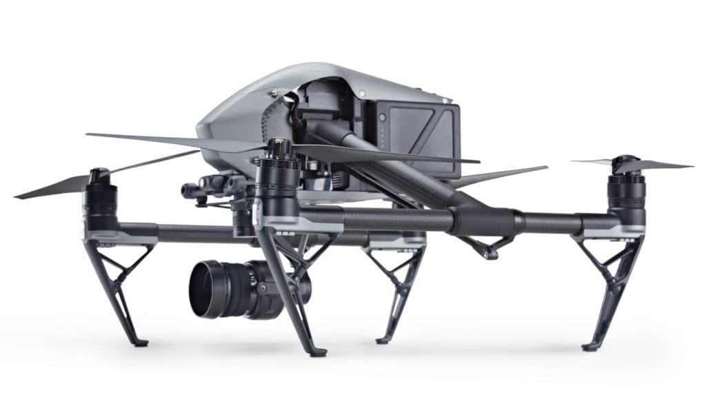 INSPIRE 2 - Cinema equipment for rent in the Caribbean