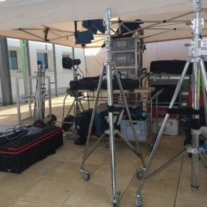 Cinema equipment rental in the Caribbean