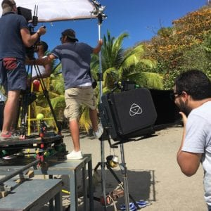 Location and Cinema video equipment rental in the Caribbean